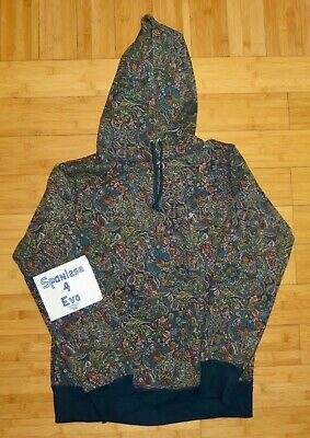 $ CDN868.78 • Buy Supreme Paisley Hoodie Navy Size Medium