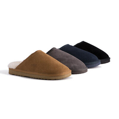 AU45 • Buy AUS WOOLI UGG Water-Resistant Unisex Genuine AU Sheepskin Scuff Slippers