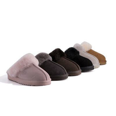 AU45 • Buy AUS WOOLI UGG Water-Resistant Unisex Genuine Australian Sheepskin Wool Slippers
