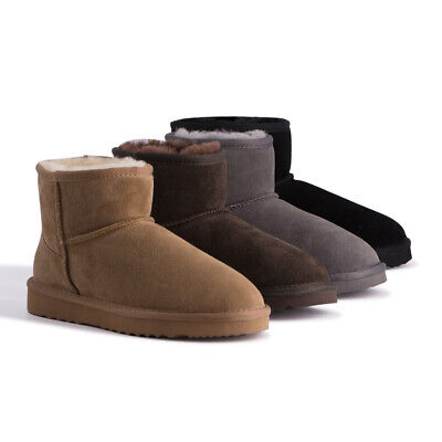 AU45 • Buy AUS WOOLI UGG Water-Resistant Unisex Genuine AU Sheepskin Short Ankle Boots