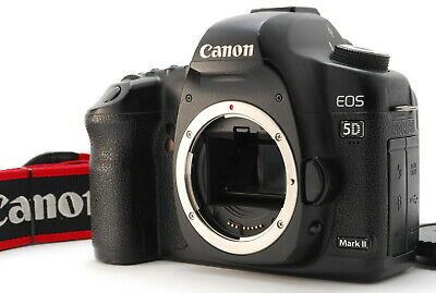$ CDN630.96 • Buy 【Exc+1】Canon EOS 5D Mark II 21.1 MP DSLR Camera Black Body Only From Japan #615