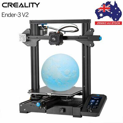 AU375.25 • Buy AU Creality Upgraded Version Ender 3 V2 3D DIY Printer Silent TMC2208 Mainboard