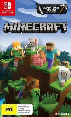 AU41.50 • Buy Brand New Minecraft For Nintendo Switch Original Aus Version