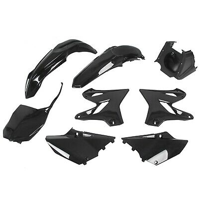 $112 • Buy Complete Restyle Plastic Kit Black For Yamaha YZ125 YZ250 2002-2014