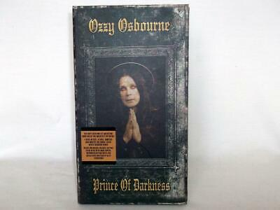 Ozzy Osbourne Prince Of Darkness 4 Cd Box Set Inc Previously Unreleased Material • 30£