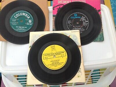 £6.50 • Buy VINTAGE JOBLOT 1960/70s PINKY AND PERKY 45rpm RECORDS FAIR CONDITION