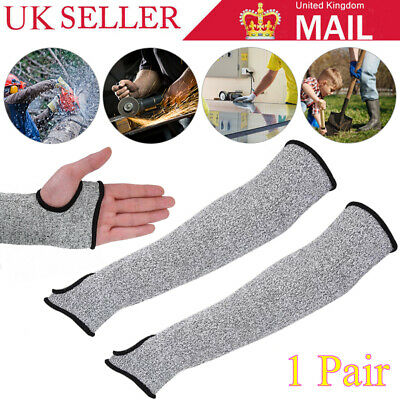 Outdoor Work Cut-Resistant Safety Arm Guard Sleeve Anti-cutting Protective Glove • 8.49£
