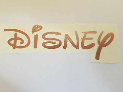 Custom Personalised Disney Style Any Name Word Labels Vinyl Cut Sticker Decal  • 1.39£