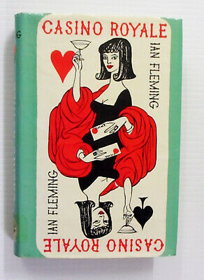 Casino Royale By Ian Fleming Jonathan Cape Hardcover/Dustjacket 1976 Reprint • 230.36£