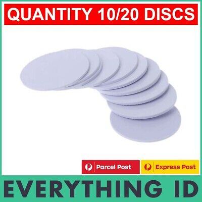AU11.90 • Buy NTAG215 NFC DISC COIN TAG PVC UNIVERSAL RFID TagMo ANDROID TYPE2 SWITCH CHIP