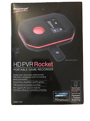 £119.99 • Buy Hauppauge HD-PVR Rocket Portable Game Recorder Xbox One / Xbox 360 / PS4 /PS3 PC