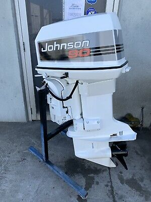 AU4999 • Buy 90 Hp JOHNSON / Evinrude Outboard Motor  ( Freight Australia Wide Available)