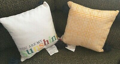 Set Of 2  You Are My Sunshine  Throw Pillows  • 8.14£