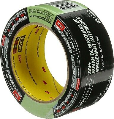 $ CDN15.95 • Buy 3M 03435 One Roll 233+ Green Automotive Performance Masking Tape 1.41  X 35 Yds