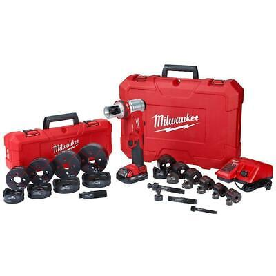 Milwaukee 2677-23 M18™ FORCELOGIC™ 6T Knockout Tool 1/2  - 4  Kit • 1,045.59£