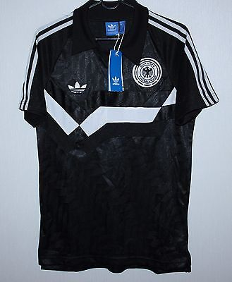 Germany National Team Retro Style Shirt BNWT Adidas Size S • 34.99£