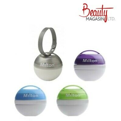 Milton Mini Portable Soother Pacifier Dummy Steriliser (Tablet-Exp.Date-10/2020) • 5.99£