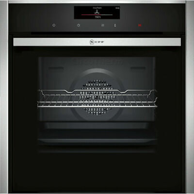 £1079 • Buy NEFF B58CT68H0B N90 Slide&Hide™ Built In 60cm A Electric Single Oven Stainless