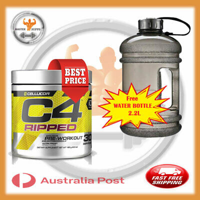AU52.99 • Buy Cellucor C4 Ripped Pre-workout Fat Burner 30 Serv Shred Fat