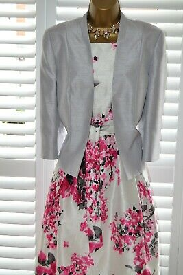 ~ JACQUES VERT & JESSICA HOWARD ~ Dress & Jacket Size 16 Mother Of The Bride • 79.99£