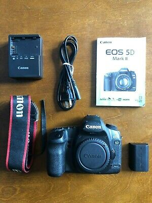 $ CDN516.86 • Buy Canon EOS 5D Mark II 21.1 MP DSLR Camera - Body + Canon Battery / Charger