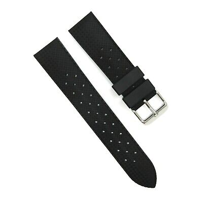 Generic TROPICAL Style RUBBER Silicon STRAP For Your Divers Watch Vintage Retro • 10.95£