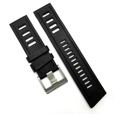 ISO Style RUBBER STRAP For Omega Seiko Rolex Tag Heuer Oris Divers Watch Band • 13.95£