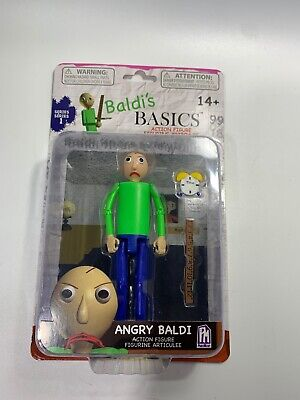 $ CDN25.39 • Buy Baldi's Basics Angry Baldi Action Figure And Accessories New In Package