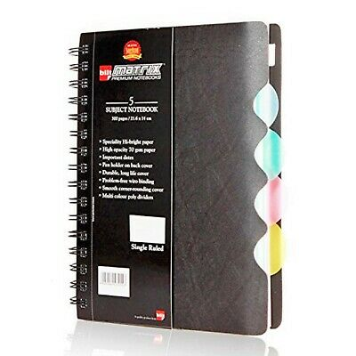 AU29.95 • Buy BILT Premium Spiral Office Notebook  - B5, 300 Pages, 70 GSM, Single Ruled
