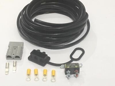 AU64 • Buy PREMIUM CAMPER TRAILER CHARGING KIT WITH ANDERSON PLUG 50amp WIRING KIT