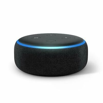 AU126.75 • Buy Echo Dot (3rd Gen) – New And Improved Smart Speaker With Alexa (Black)-Free Ship