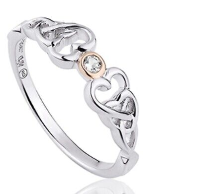 Clogau Gold Love Spoon Ring Size Q • 26.40£