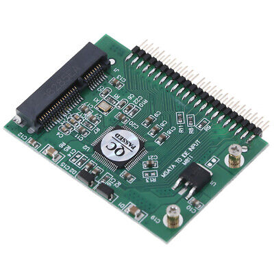 MSATA Adapter MSATA SSD To 44Pin IDE Adapter MSATA IDE Converter Card For/laOV • 4.18£