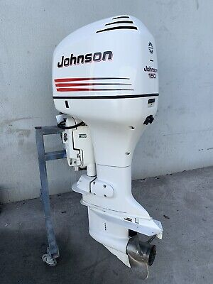 AU5499 • Buy 150hp Hp JOHNSON Bombardier Outboard Motor (Interstate Freight Available)