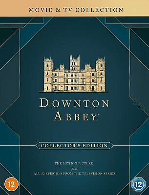 DOWNTON / DOWNTOWN ABBEY - The Complete TV Series Season 1-6 + Specials DVD NEW • 59.99£
