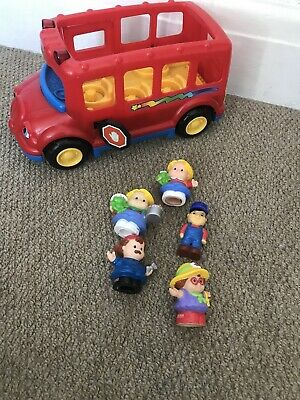 Fisher Price Mattel Little People And Happyland People: School Bus • 2.20£