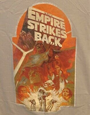 $4.99 • Buy  T-Shirt 2XL Jersey Style Star Wars  The Empire Strikes Back  T-Shirt
