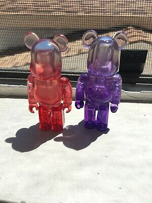 $15 • Buy Be@rBrick Red And Purple Jellybean Bearbrick Displayed Only
