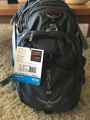 $91 • Buy Osprey Manta 36 Backpack New With Tags
