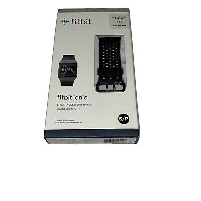 $ CDN29.99 • Buy Fitbit Ionic Breathable Band S/P Black