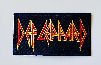 £1.99 • Buy Def Leppard Rock Music Band Embroidered Iron On Sew On Patch Badge