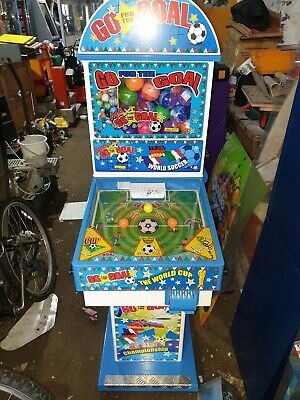 Coin Operated Go For The Goal Kids Pin Ball Arcade Machine • 700£