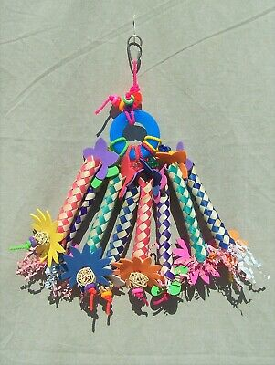 £6.34 • Buy Happy Beaks Bird Toy Chinese Finger Trap Mobile HB865 ORDER $100 FREE SHIPPING