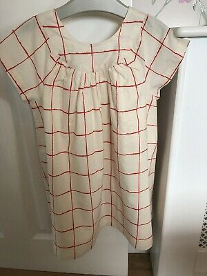 Girls Next Check Lined Dress Age 4-5 (New) • 2.10£