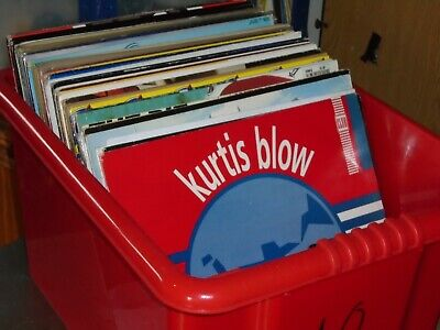85 X 12    Hip Hop / Old Skool / Electro Vinyl Records Collection..  80's / 90's • 80£