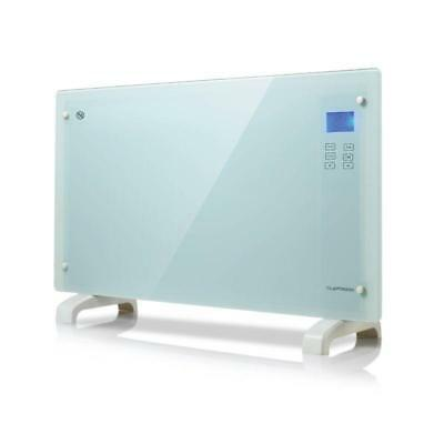 Touch Panel Portable Convection Heater 2000w White Glass Wall Mounted Free Stand • 64.99£