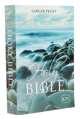 AU12.10 • Buy KJV, Holy Bible, Larger Print, Paperback