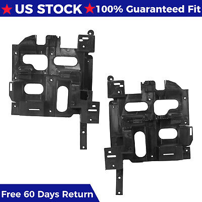 $51.55 • Buy Headlight Mount Support Panel Brackets For 03 04 05 06 07 Chevy Silverado 1500