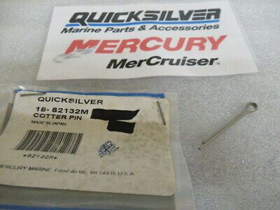 $5.95 • Buy S2A Mercury Quicksilver 18-82132M Cotter Pin OEM New Factory Boat Parts
