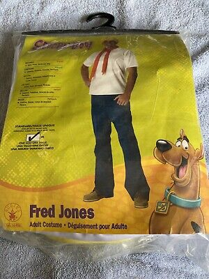 Adult Scooby Doo Fred Costume • 21£